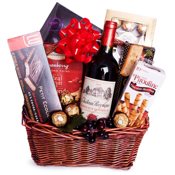 Weißensee flowers  -  Autumn Red Flower Delivery