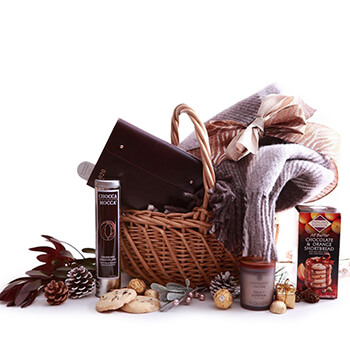 Denmark flowers  -  Bundle Of Comfort Baskets Delivery