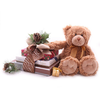 Shanghai online Florist - Chocolate and Hugs Bouquet