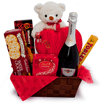Isle Of Man, Isle Of Man flowers  -  Enchanted Heart Baskets Delivery