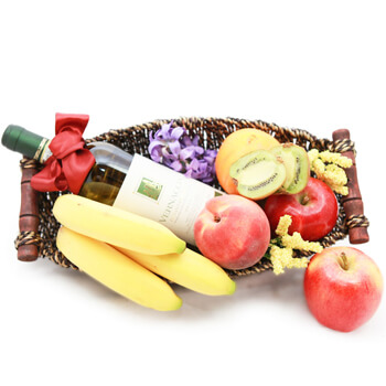 Greece online Florist - Fruitful Elegance Bouquet