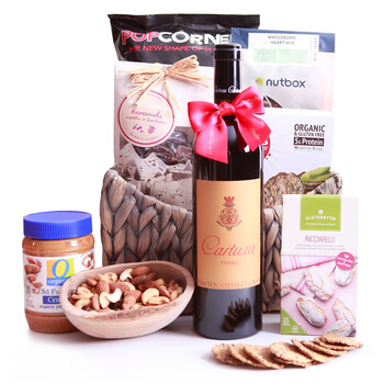 Bermuda flowers  -  Gluten Free Holiday Baskets Delivery