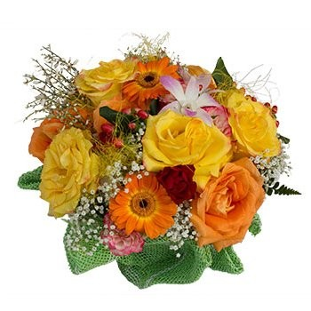 Ankara flowers  -  Greet the Morning Baskets Delivery