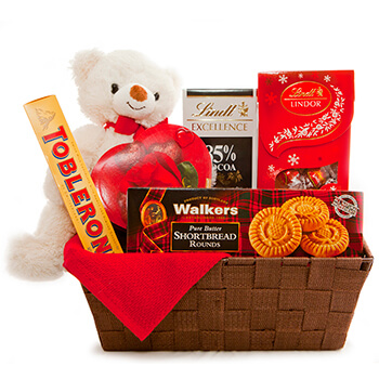 Weißensee flowers  -  I Give You My Heart Flower Delivery