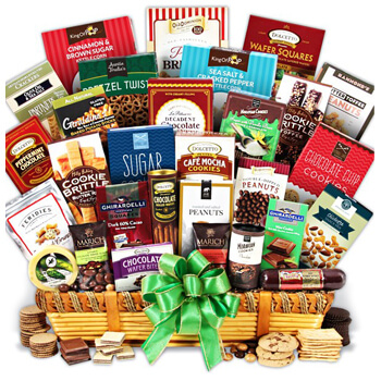 Weißensee flowers  -  Impressive Holiday Basket Flower Delivery