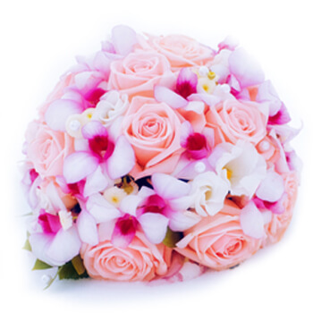 Guatemala flowers  -  Pastel Bouquet Baskets Delivery