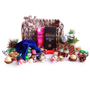 Blowing Point Village Fleuriste en ligne - Chocolats aléatoires Bouquet