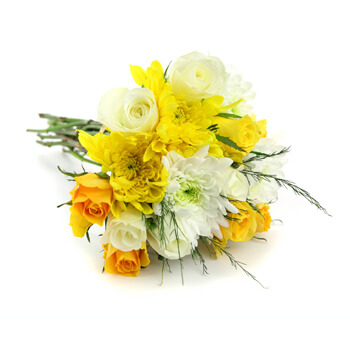 Sumatra online Florist - Blooms of Sunshine Bouquet