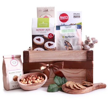 Milan flowers  -  Simple Gluten Free Baskets Delivery