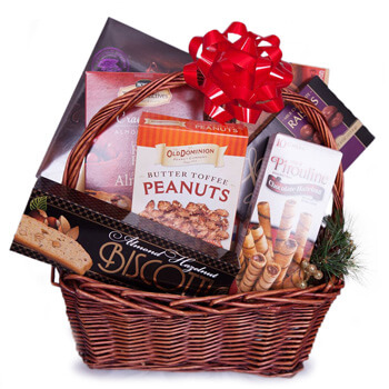 Turkey flowers  -  Snacks And Love Baskets Delivery