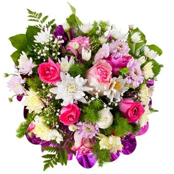 Isle Of Man flowers  -  Spring Glow Flower Bouquet/Arrangement