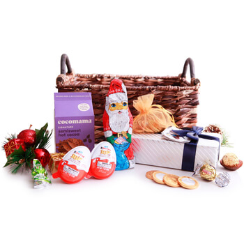 Turkey flowers  -  Stocking Stuffers Baskets Delivery