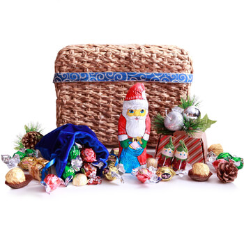 Isle Of Man, Isle Of Man flowers  -  Sweet Santa Baskets Delivery
