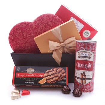 Tirane Online cvećare - Fall for Chocolate Buket