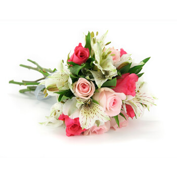Batam online Florist - Where Love Grows Bouquet