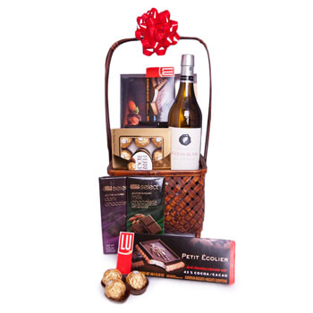 Agana Heights Dorp online bloemist - Winter Chocolaatjes Boeket