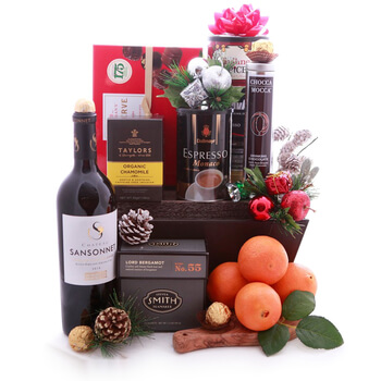 Weißensee flowers  -  Winter Delights to Drink Flower Delivery