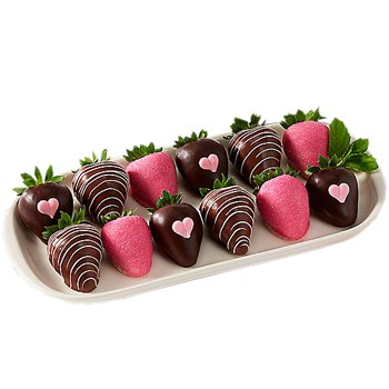 Los Angeles flowers  -  Berry Romantic Baskets Delivery