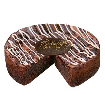 Washington flowers  -  Black Magic Gourmet Cake Baskets Delivery