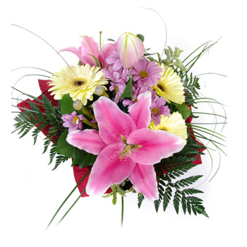 Tajikistan online Florist - Blissful Blossoms Bouquet