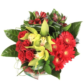 Norway flowers  -  Blooming Joy Baskets Delivery