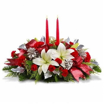 Oslo online Florist - Brightest Light Centerpiece Bouquet