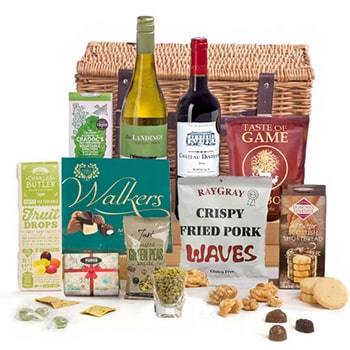 Sheffield, United Kingdom flowers  -  British Bites Hamper Baskets Delivery