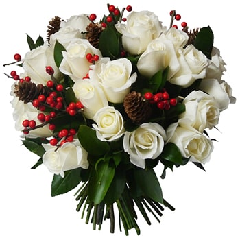 Oslo online Florist - Bundled in Love Bouquet Bouquet