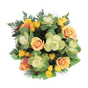 Bonaire online Florist - Butter Her Up Bouquet