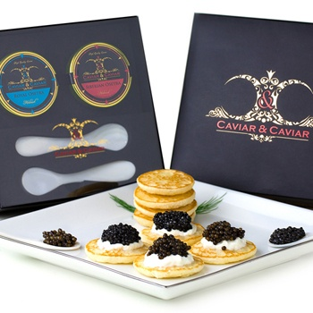 Austin flowers  -  Caviar Indulgence Baskets Delivery