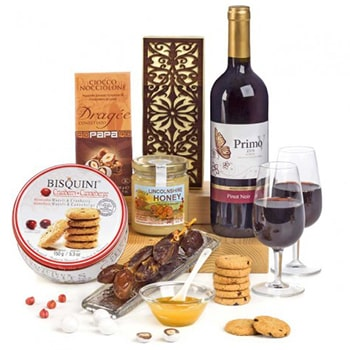 Sheffield, United Kingdom flowers  -  Celebrate Kosher Goodness Gift Set Baskets Delivery