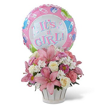 Los Angeles flowers  -  Celebrate Your Daughter Baskets Delivery
