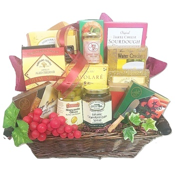 Los Angeles flowers  -  Fromage Favorites Baskets Delivery