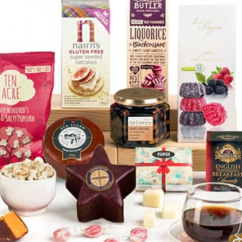 Sheffield, United Kingdom flowers  -  Cheesed for Gluten Free Assortment Baskets Delivery
