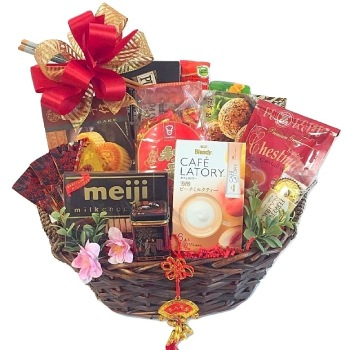 Arlington flowers  -  Chinese New Year Special Baskets Delivery