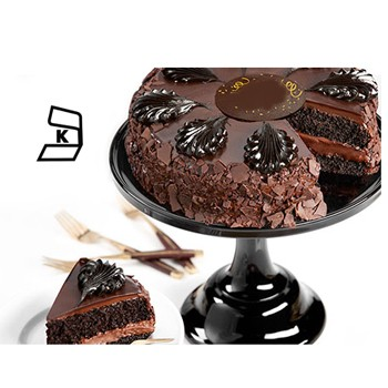 Houston flowers  -  Chocolate Decadence Cake Baskets Delivery