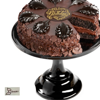 Houston flowers  -  Chocolate Paradise Torte Baskets Delivery