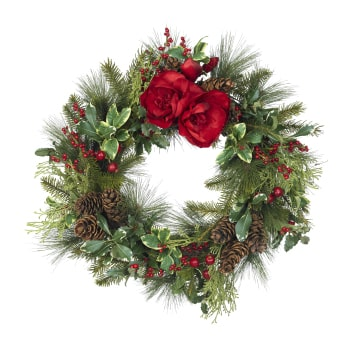 Oslo online Florist - Christmas Wreath Bouquet