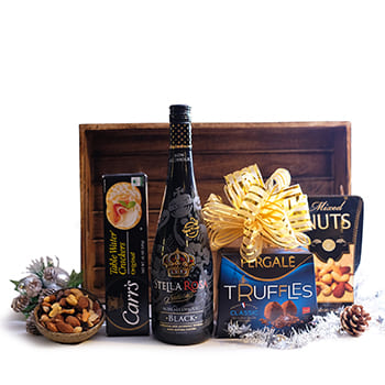 Rest of Norway flowers  -  Sparkling Juice and More Gift Basket Flower Delivery