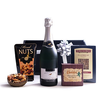 Norway flowers  -  Sparkling Juice and Gourmet Snacks Baskets Delivery