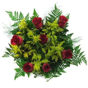 Roscrea flowers  -  Classic Charm Bouquet Flower Delivery