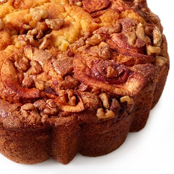 Los Angeles flowers  -  Coffee Cake with Apples Baskets Delivery