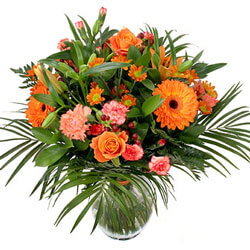 Norway flowers  -  Color Splash Baskets Delivery