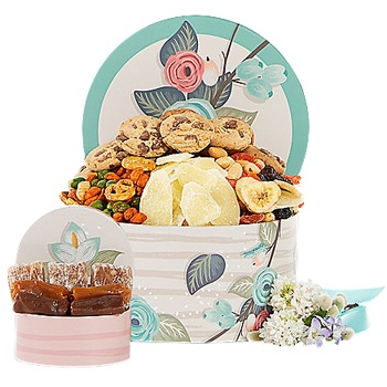 Houston flowers  -  Colorful Cookies Baskets Delivery