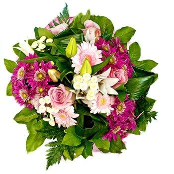Moscow flowers  -  Colorful Sensations Baskets Delivery