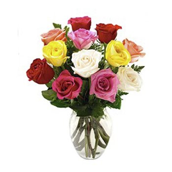 Los Angeles flowers  -  Colors Of Love Baskets Delivery