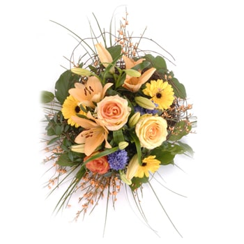 Moscow flowers  -  Country Scents Baskets Delivery