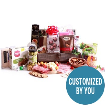Rosa Zarate flowers  -  Build Your Own Gourmet Basket Flower Delivery
