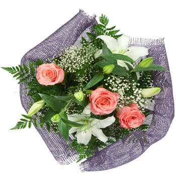 Nepal blomster- Dainty Daydreams Bouquet Blomst Levering