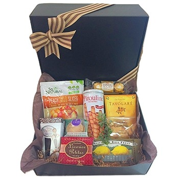 Raleigh blomster- The Sweetest Surprise Gift Basket kurver Levering